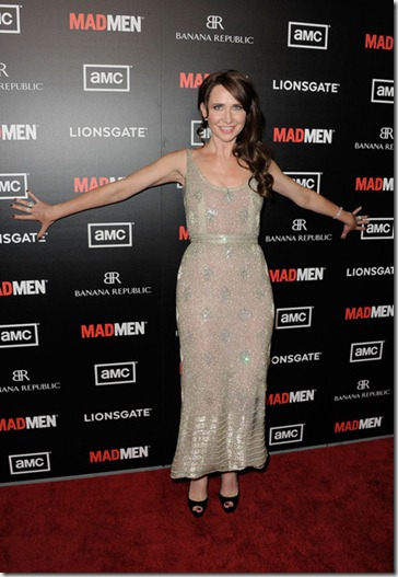 Premiere AMC Mad Men Season 5 Arrivals nSdgRQAYScpl