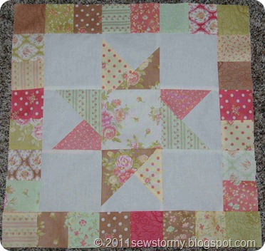 Fresh Cotton Star Block