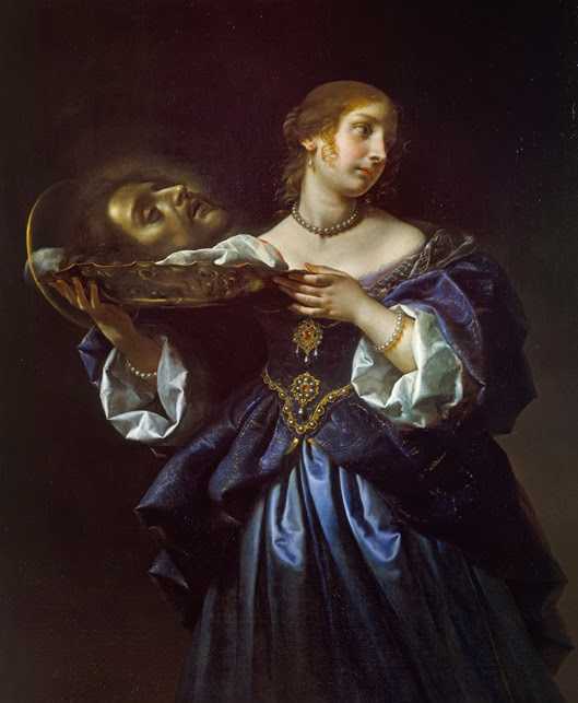 Carlo Dolci Salome with the Head of St John the Baptist, ca. 1665-70 Royal Col