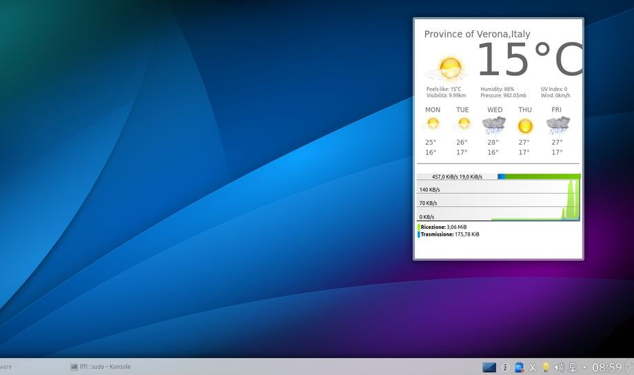 Plasma Google Now in KDE