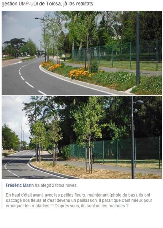 realitats de la gestion UMP UDI de la vila de Tolosa