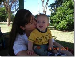 Mummy and J