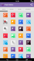 Screenshot of Saga3 metro style - Icon Pack