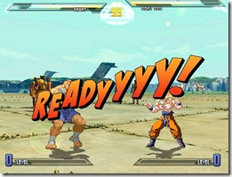 Dragonball vs Street Fighter 3 fan game pic5