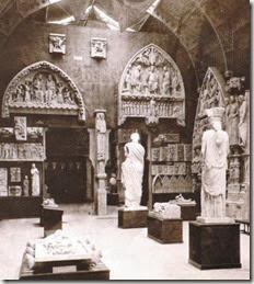 Seconde salle du musée de sculpture comparée