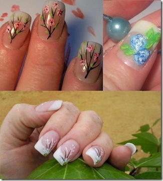 imagenes de uñas de porcelana fina hermosa