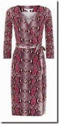 DvF Python Print Wrap Dress