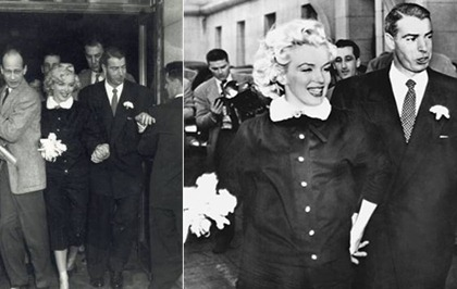 marilyn-monroe-WEDDING-JOE-DIMAGGIO