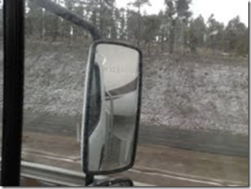 Snow April 17 2