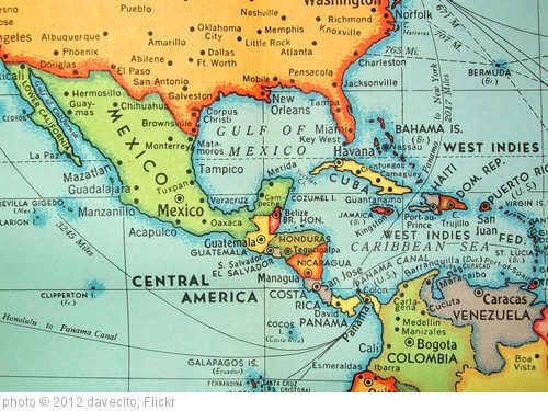 'Central Americas  (Feb 1960)' photo (c) 2012, davecito - license: http://creativecommons.org/licenses/by/2.0/