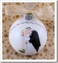 Beautiful Moment Ornament - top view