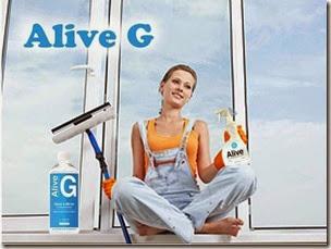 Alive ™ G Средство для стекол и зеркал