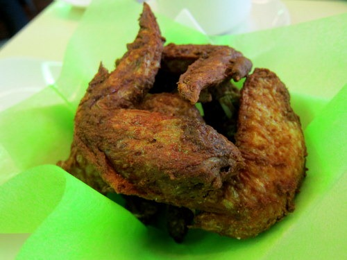 Mandarin Fried Chicken Wings: marinated with five spices and chef's secret recipe sauce