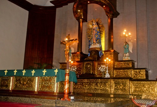 altar @ our lady of guadalupe