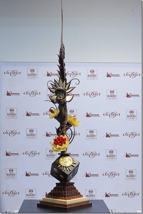 Yumiko Saimura Chocolate Artwork (Italy)