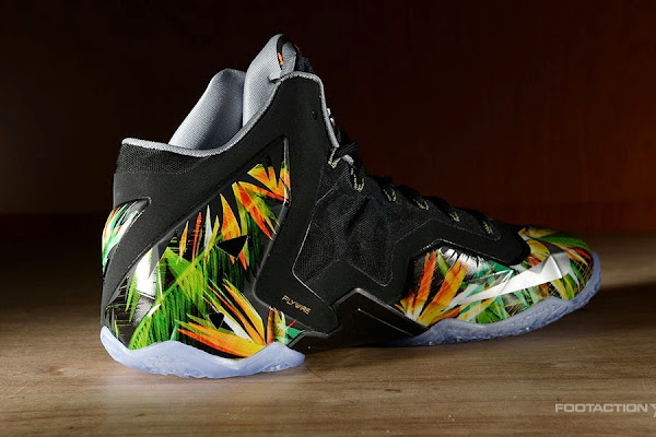 The Nike LeBron 11 8220Everglades8221 Drops in 4 Days
