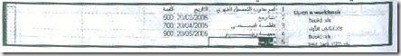 إدخال البيانات لورقة العمل في إكسيل17-2