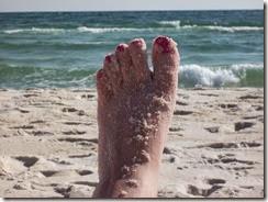 nail sand