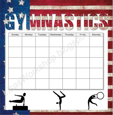 photo panel - gymnastics