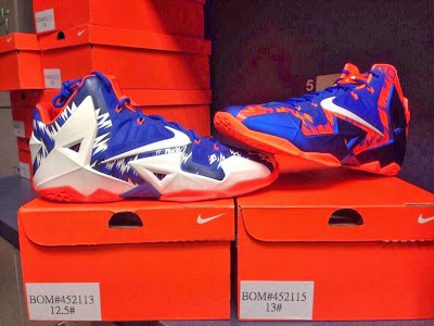nike lebron 11 pe florida gators 1 02 Nike LeBron 11   Florida Gators   Home & Away PEs