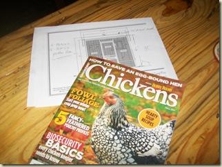 cabriole legs- 3 burner hot plate- Chicken Mag 006