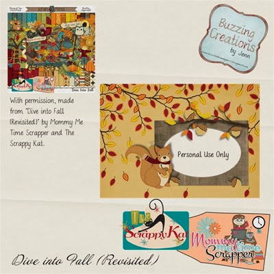 MMTS & TSK - Dive into Fall - Brag Book Freebie Preview