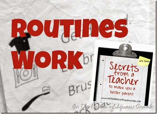 routines work