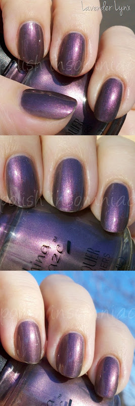 China Glaze Lavender Lynx - Throwback Thursday