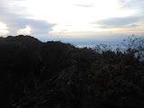 On Ciremai crater rim (Dan Quinn, April 2013)