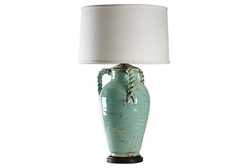 pottery-lamp-blue