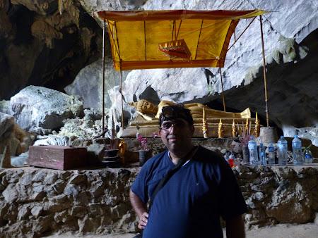 Imagini Laos: statuie Buda