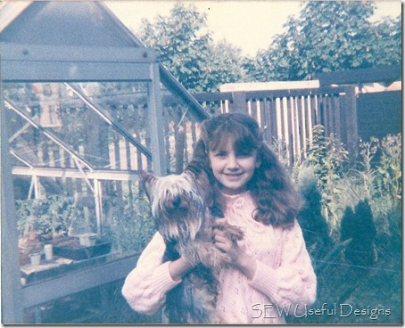 Vikki teen photo with Scamp