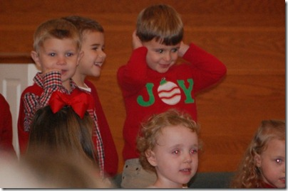 Wesleys 3yr old Christmas Program 2