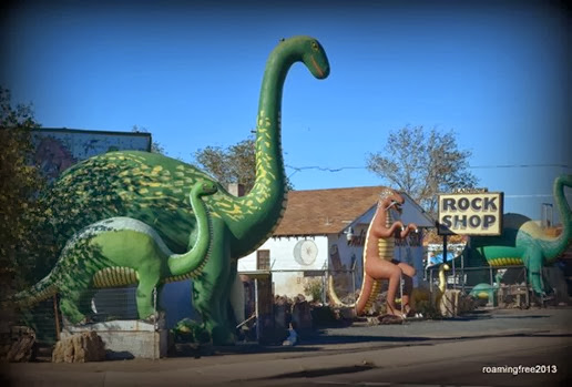 Dinosaurs in Holbrook