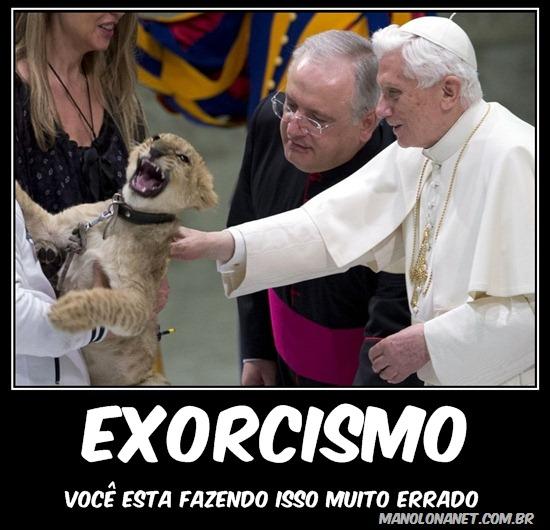 Fazer um Exorcismo