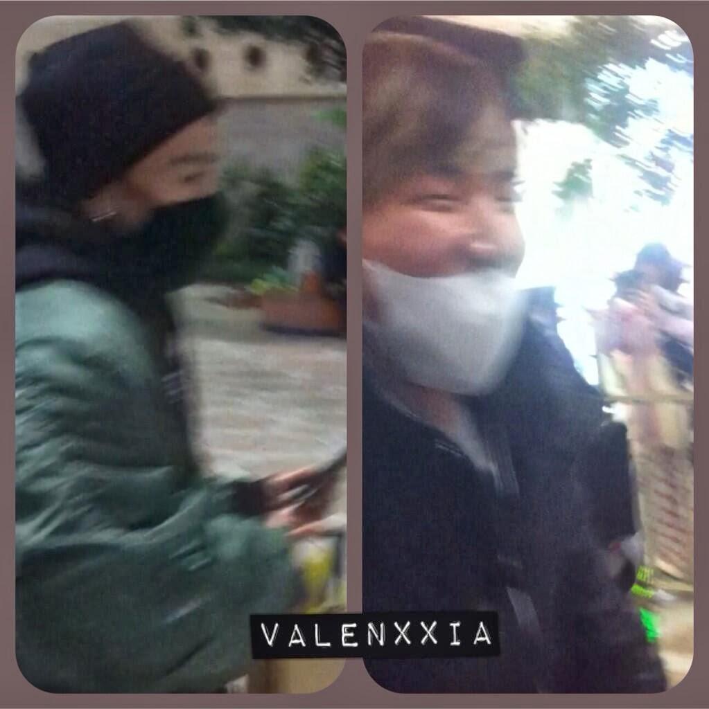 Dae Sung & Tae Yang - Gimpo Airport - 18dec2013 - Fan - Valenxxia - 01.jpg