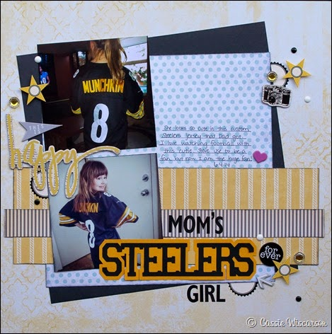 Mom's Steelers Girl