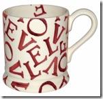 Emma Bridgewater Love Mug