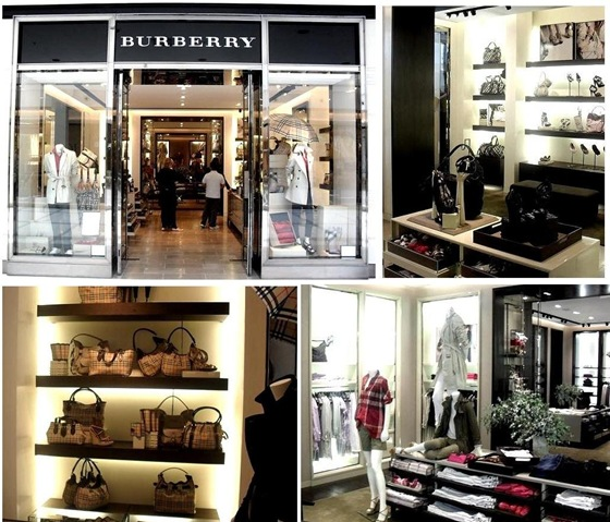 Burberry no Shopping Iguatemi Brasilia