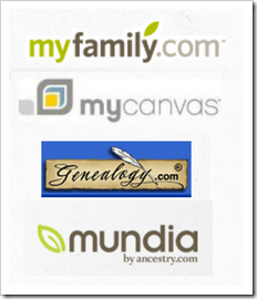 Ancestry.com is retiring myfamily.com, mycanvas, genealogy.com, and mundia.