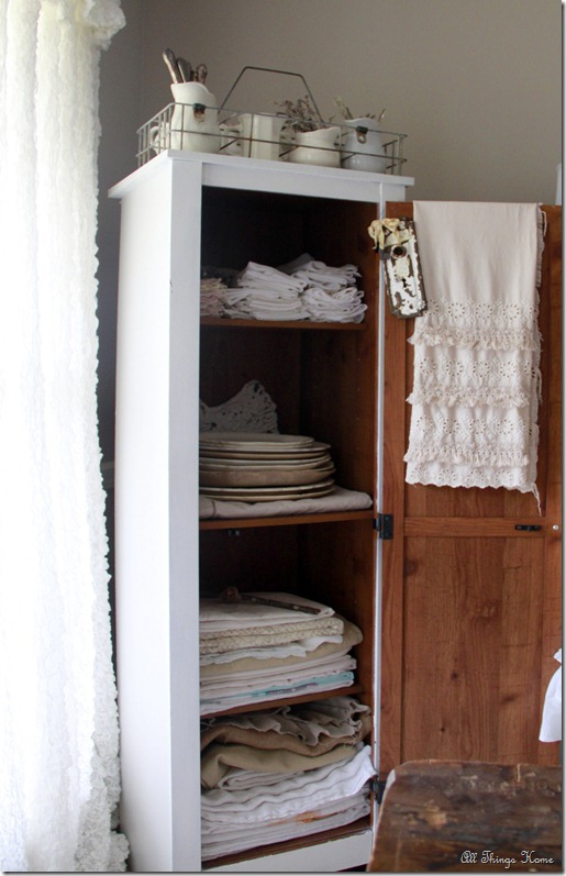 linen cabinet