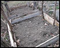 dry garden bed