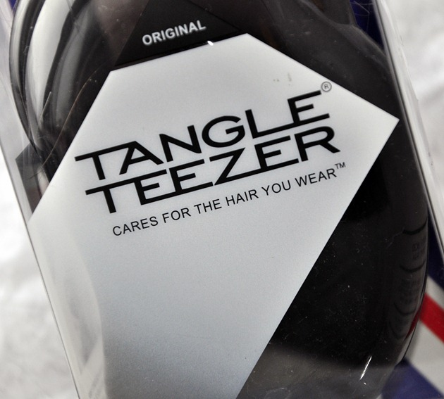 Tangle Teezer hair brush beauty blog haircare review packaging