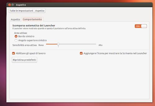 Ubuntu 13.10 - Aspetto