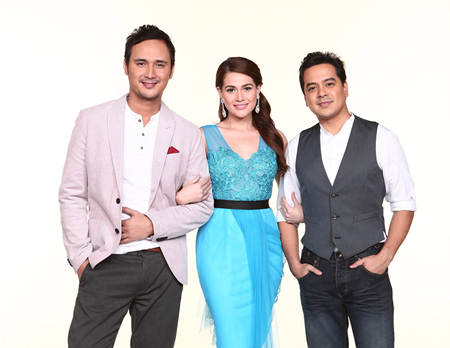 John Estrada, Bea Alonzo and John Lloyd Cruz