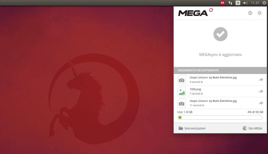 Mega Sync in Ubuntu