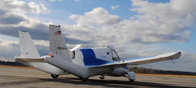 Mobil Terbang Setelah Landing
