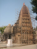 This temple was constructed in early 12th century. In scheme and architecture, it is similar to Udayeshvara Temple of Udayapur. This temple is also an example of Bhumija temple tower. The tower here is hightened to the extreme level consisting of nine tiers of miniature towered elements either side of the central tapering bands of mesh-like ornament.