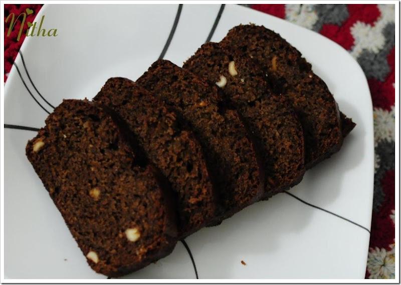 Chocolate Banana Cake 17