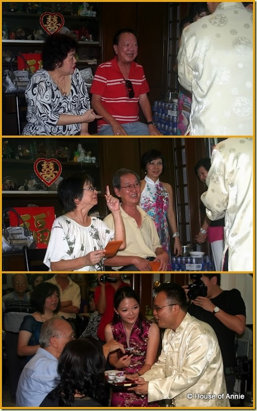 Penang Wedding Tea Ceremony - Uncles and Aunties